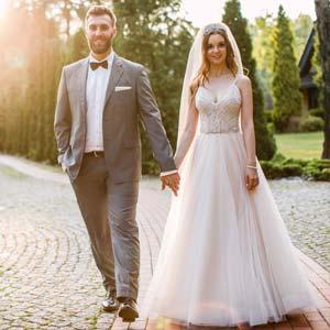 Sesja plenerowa - ślubna